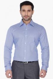 Park Avenue Mens Regular Collar Check Shirt
