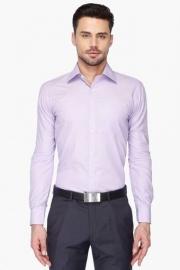 Park Avenue Mens Full Sleeves Slim Fit Formal Slub Shirt