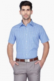Park Avenue Mens Regular Fit Check Shirt