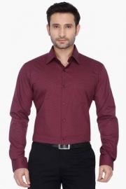 Park Avenue Mens Slim Fit Printed Shirt