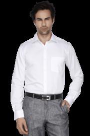 Park Avenue Mens Full Sleeves Slim Fit Formal Solid Shirt