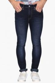 Mens 5 Pocket Extreme Skinny Fit Mild Wash Jeans