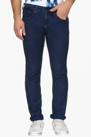 Mens 5 Pocket Skinny Fit Mild Wash Jeans