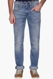 Levis Mens Slim Fit Mild Wash Jeans