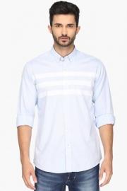 Pe Pe Mens Slim Fit Stripe Shirt