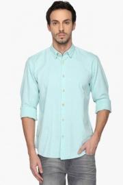 Pe Pe Mens Button Down Collar Printed Shirt