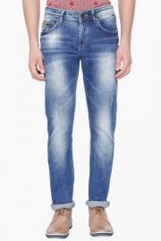 Mens 5 Pocket Stretch Jeans (skinny Fit)