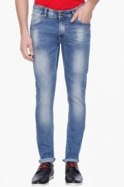 Mens 5 Pocket Stretch Jeans (super Skinny Fit)
