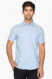 Pe Pe Mens Regular Collar Printed Shirt
