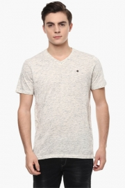 Mens Slim Fit Printed T-shirt