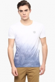 Mens Slim Fit Colour Block T-shirt
