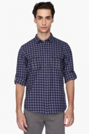Pe Pe Mens Slim Fit Check Shirt