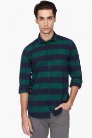 Pe Pe Mens Regular Fit Stripe Shirt
