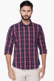 Pe Pe Mens Full Sleeves Casual Check Shirt