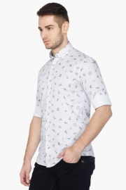 Pe Pe Mens Full Sleeves Casual Printed Shirt