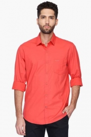 Pe Pe Mens Regular Collar Solid Shirt