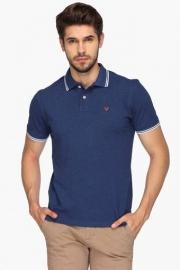 Allen Solly Mens Regular Fit Slub Polo T-shirt