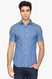 Mens Regular Fit Printed Shirt