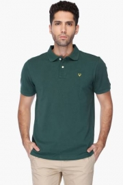 Allen Solly Mens Solid Polo T-shirt