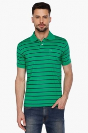Allen Solly Mens Short Sleeves Stripe Polo T-shirt