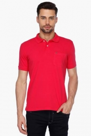 Allen Solly Mens Short Sleeves Solid Polo T-shirt