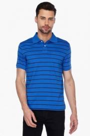 Allen Solly Mens Short Sleeves Stripe Polo T-shirt
