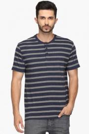 Mens Regular Fit Stripe T-shirt