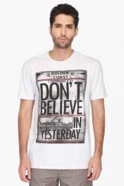 Mens Regular Fit Printed T-shirt