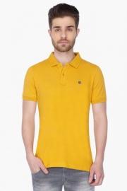 Mens Short Sleeves Solid Polo T-shirt