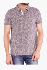 Mens Short Sleeves Printed Polo T-shirt (jazz Fit)