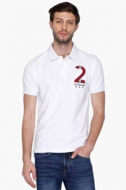 U.s. Polo  Mens Regular Fit Solid Polo T-shirt