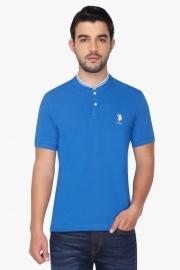 U.s. Polo  Mens Short Sleeves Henley Neck Solid T-shirt