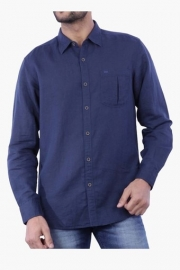 Mens Full Sleeves Casual Solid Shirt (charlie Fit)
