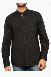 Mens Full Sleeves Casual Solid Shirt ( Bob Fit)