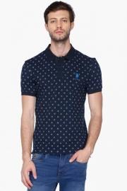 U.s. Polo Mens Regular Fit Printed Polo T-shirt