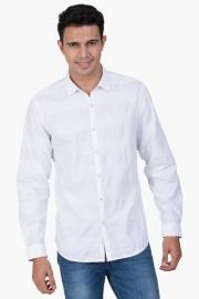 Mens Slim Fit Stripe Shirt