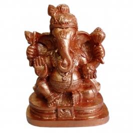 Navdhan Ganesha Idol (mayura)