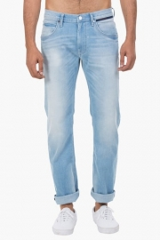 Mens 5 Pocket Slim Fit Heavy Wash Jeans (powell Fit)