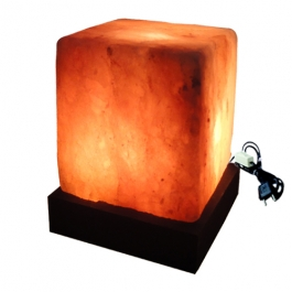 Square Rock Salt Lamp
