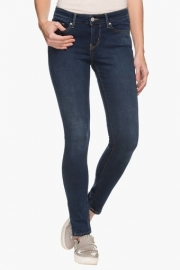 Levis Womens 5 Pocket Rinse Wash Jeans
