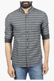Mens Full Sleeves Casual Stripe Shirt