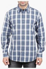 Mens Full Sleeves Casual Check Shirt
