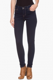 Levis Womens Coated Contrast Stitched Jeans