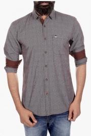 Mens Regular Fit Printed Shirt