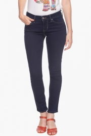 Levis Womens Mid Rise Coated Jeans
