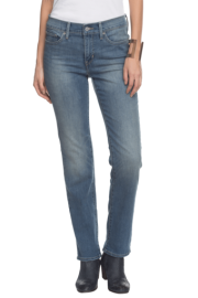 Levis Women Straight Fit Ankle Length Jeans