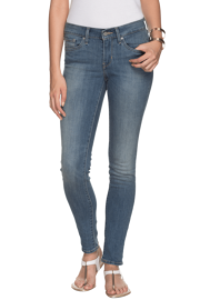 Levis Women Stonewashed Slim Fit Jeans