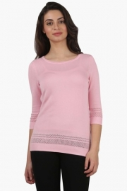 Levis Womens Round Neck Flat Knit Top