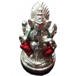Ganesha Idol-s (silver Plated)