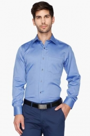 Van Heusen Mens Regular Collar Slub Shirt